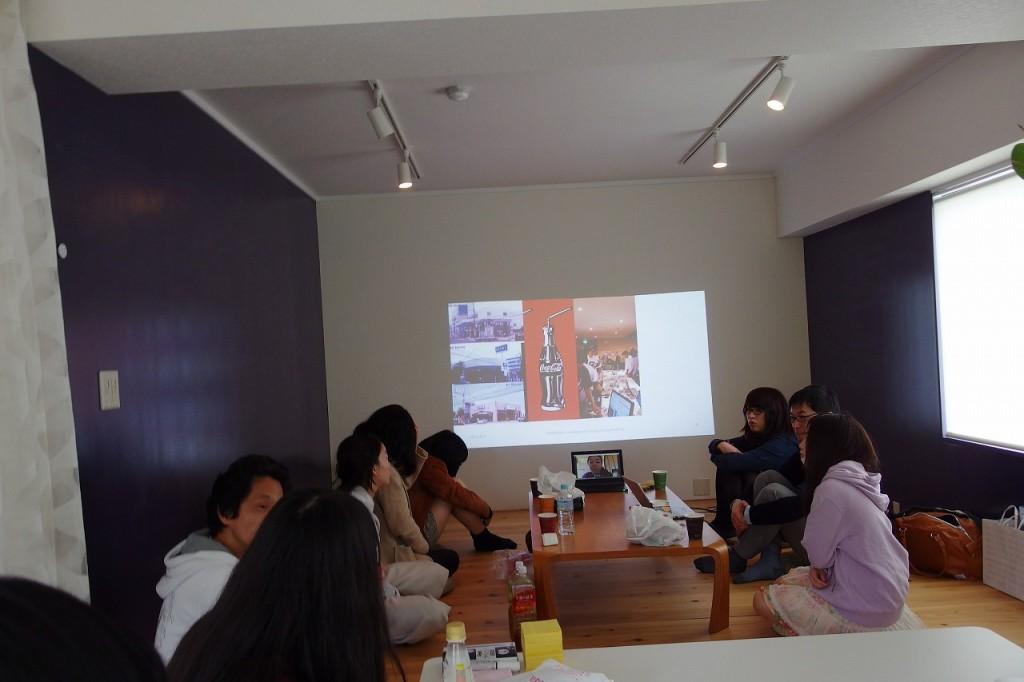 あまラボの3年生メンバーと共同研究に参加して下さるインフィールドデザインのメンバーとの顔合わせもこのj日の重要なミッションです。