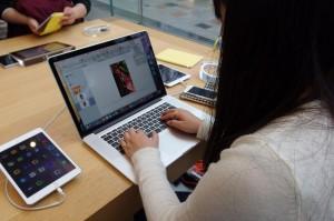 iBooks Author を使ってフィールドワークの報告書を作ります。